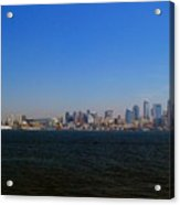 Seattle Skyline And Space Needle Acrylic Print
