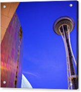 Seattle Space Needle Acrylic Print
