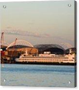 Seattle Stadiums Acrylic Print