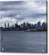 Seattle Sun Breaks Acrylic Print