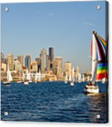 Seattle Tack Acrylic Print