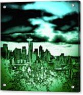 Seattle - The Emerald City Acrylic Print