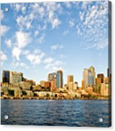 Seattle The Emerald City Acrylic Print