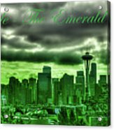 Seattle Washington - The Emerald City Acrylic Print