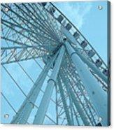 Seattle Wheel Acrylic Print