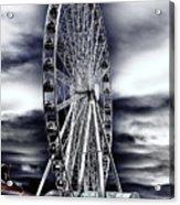 Seattle's Great Wheel Acrylic Print