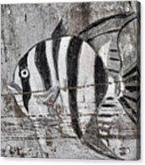 Seawall Art Acrylic Print