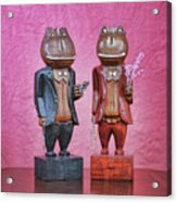 Sebastian And Ichabod Acrylic Print