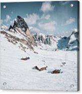 Seceda Dolomity, Italy  Acrylic Print