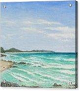 Second Bay Coolum Beach Acrylic Print