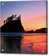 Second Beach Sunset Acrylic Print