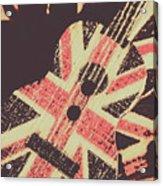 Second British Invasion Acrylic Print