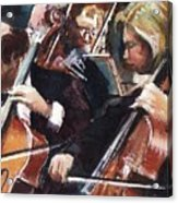 Second Cellos Acrylic Print