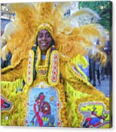 Second Line Nola _ Painted Acrylic Print