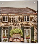 Second Story Cottage Acrylic Print