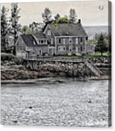 Second Story View Acrylic Print