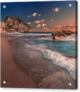 Secret Beach Greece Acrylic Print