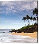 Secret Beach Maui Sunrise Acrylic Print