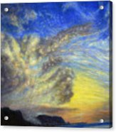 Secret Beach Sunset Acrylic Print