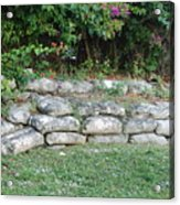 Secret Block Wall Acrylic Print