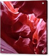 Secret Canyon 2 Acrylic Print
