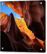 Secret Canyon Acrylic Print