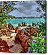 Secret Cove Acrylic Print