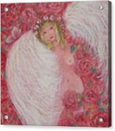 Secret Garden Angel 6 Acrylic Print