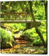 Secret Garden Bridge Acrylic Print