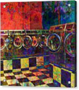 Secret Life Of Laundromats Acrylic Print