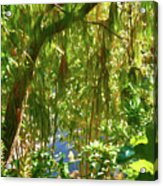 Secret Place By The Water Acrylic Print