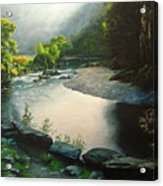 Secret Valley Acrylic Print
