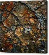 Sedimentary Abstract Acrylic Print