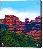 Sedona Arizona Red Rock Acrylic Print by Jill Reger