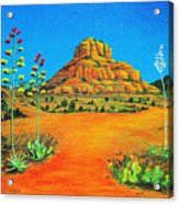 Sedona Bell Rock Acrylic Print