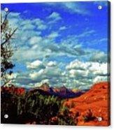Sedona Capitol Butte Acrylic Print