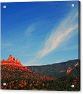 Sedona Clouds Acrylic Print