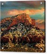 Sedona Dawn Acrylic Print