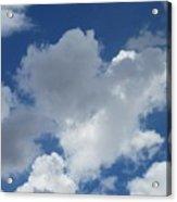 Sedona Heart Cloud Acrylic Print