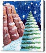 Sedona Holiday Acrylic Print