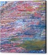 Sedona Mesa Strata  Acrylic Print