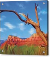 Sedona Red Rock Country Acrylic Print by Bob Salo