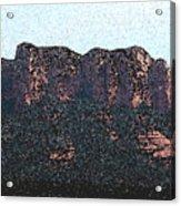 Sedona Rock Formation Acrylic Print