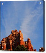 Sedona Sky Acrylic Print
