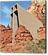 Sedona - The Chapel Of The Holy Cross Acrylic Print