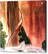 Sedona's Waterfall Acrylic Print