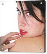Seductive Woman Acrylic Print