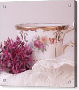 Sedum Flower Still Life Acrylic Print