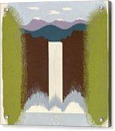 See America Poster, C1937 Acrylic Print