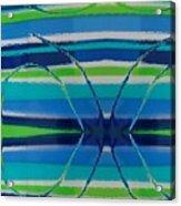 See Thru Blue Acrylic Print